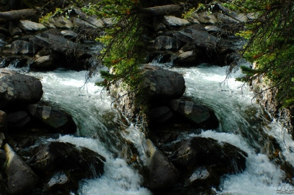 Grand Teton Waterfalls - 3D